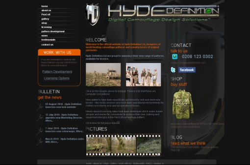 """Hyde Definition web page"""